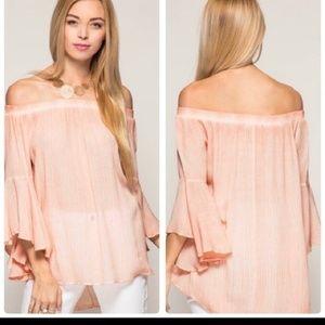 Flirty blouse